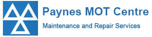 Paynes MOT Logo